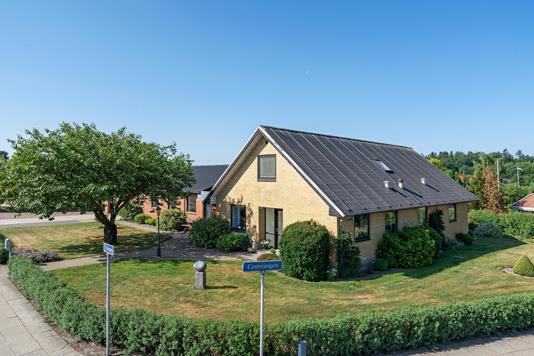 Villa på Udsigten i Sørvad - Ejendommen