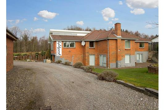Villa på Nybodalen i Holstebro - Facade