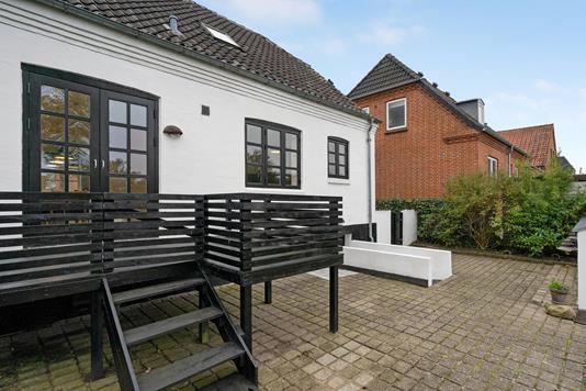 Villa på Skivevej i Holstebro - Terrasse