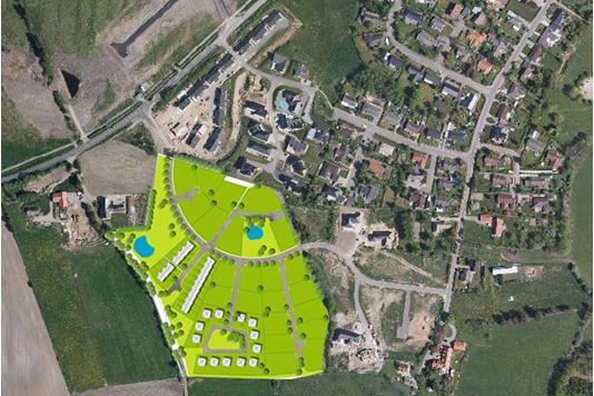 Helårsgrund på Brunbjergparken i Aabenraa - Grund