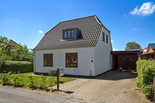 Villa på Kliplev Søndergade i Aabenraa - Set fra vejen