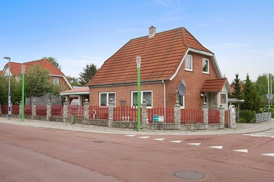 Villa på Kirkegade i Rødekro - Ejendommen