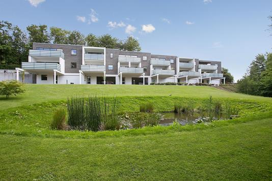 Villa på Skovparken i Aabenraa - Facade