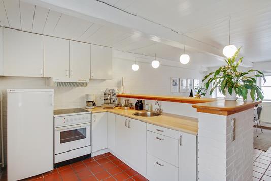 Villa på Gildegade i Aabenraa - Køkken