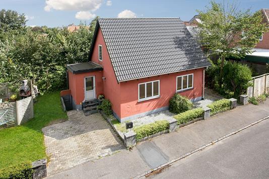 Villa på Realskolevej i Tinglev - Ejendommen