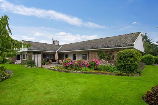 Villa på Snur-Om i Rødekro - Set fra haven