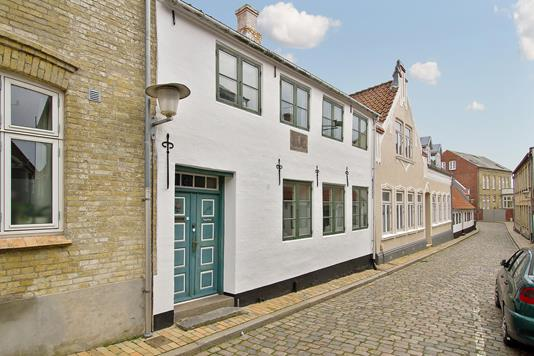 Villa på Lille Pottergade i Aabenraa - Ejendommen