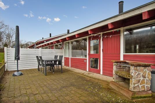 Fritidsbolig på Løjt Feriecenter 1 i Aabenraa - Terrasse