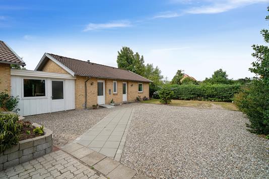 Villa på Højvang i Rødekro - Set fra vejen