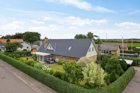 Villa på Bag Volden i Bolderslev - Ejendommen