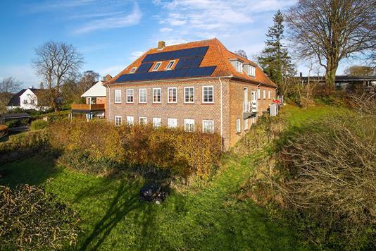 Villa på Jørgensgård i Aabenraa - Set fra haven