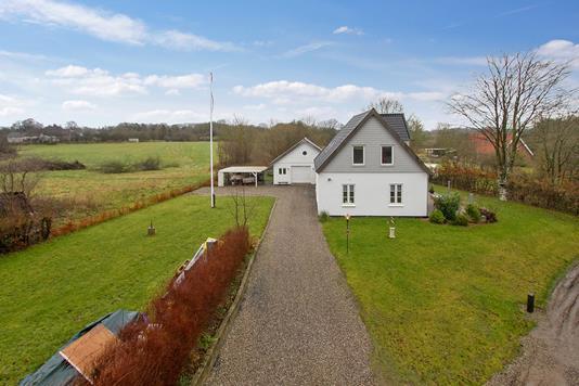 Villa på Arnkilsbjerg i Aabenraa - Ejendommen