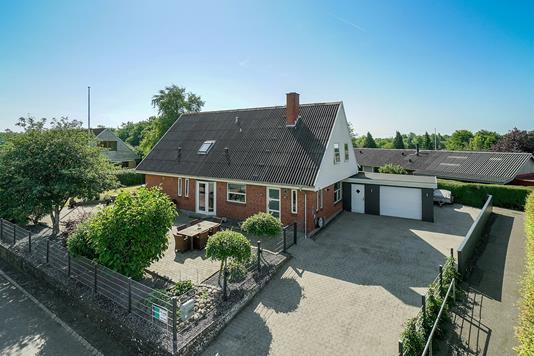 Villa på Gammel Søndergade i Bolderslev - Set fra vejen