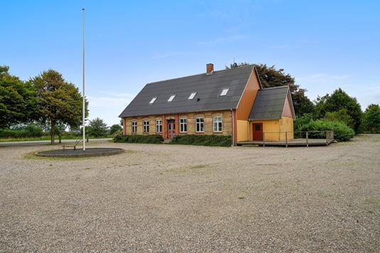Villa på Møllevej i Aabenraa - Set fra vejen