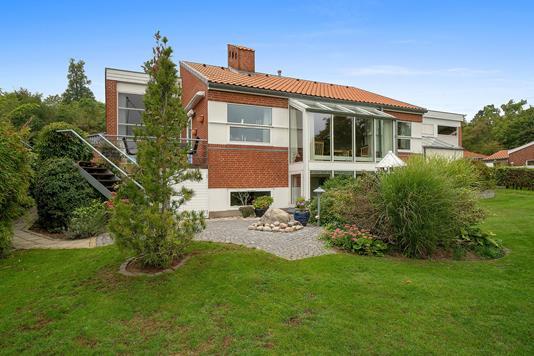 Villa på Lindbjergparken i Aabenraa - Set fra haven