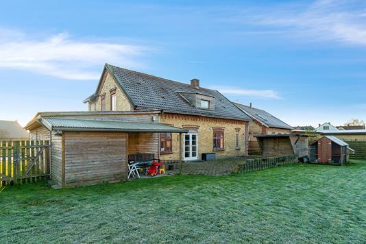 Villa på Blansvej i Aabenraa - Set fra haven
