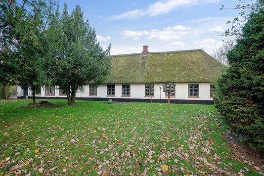 Villa på Flensborgvej i Tinglev - Set fra haven