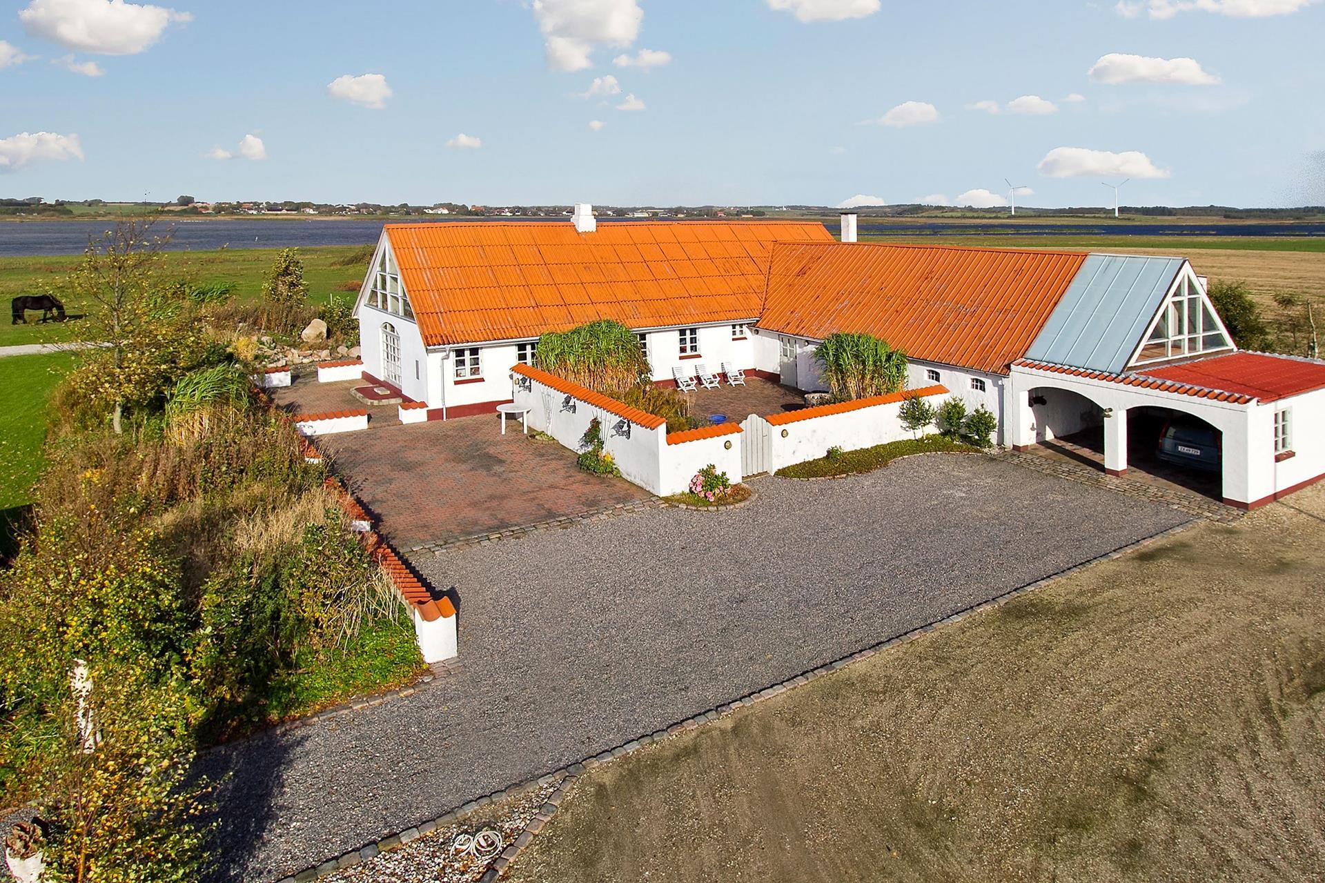Landejendom på Fiskergårdsvej i Løgstør - Ejendommen