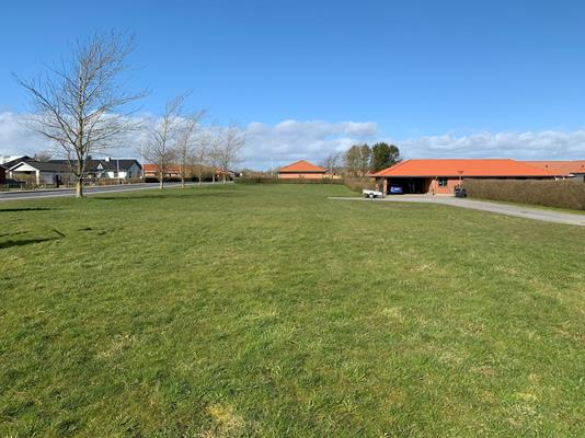 Helårsgrund på Hvedemarken i Løgstør - Byggegrund