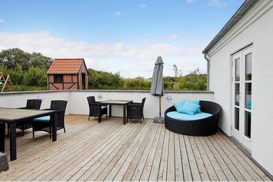 Villa på Mallevej i Ranum - Terrasse