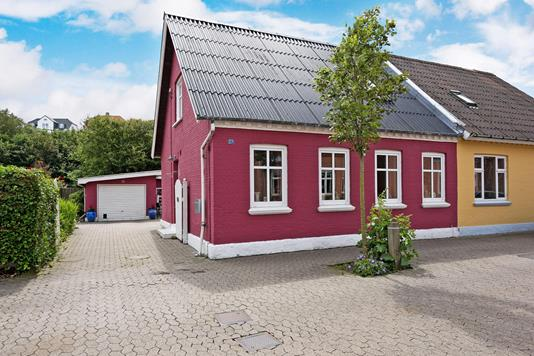 Villa på Fischersgade i Løgstør - Ejendommen