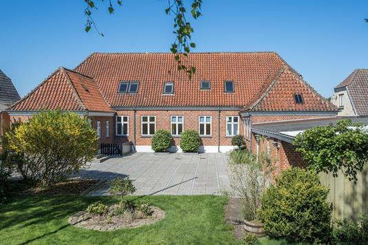 Villa på Vestergade i Ranum - Ejendommen