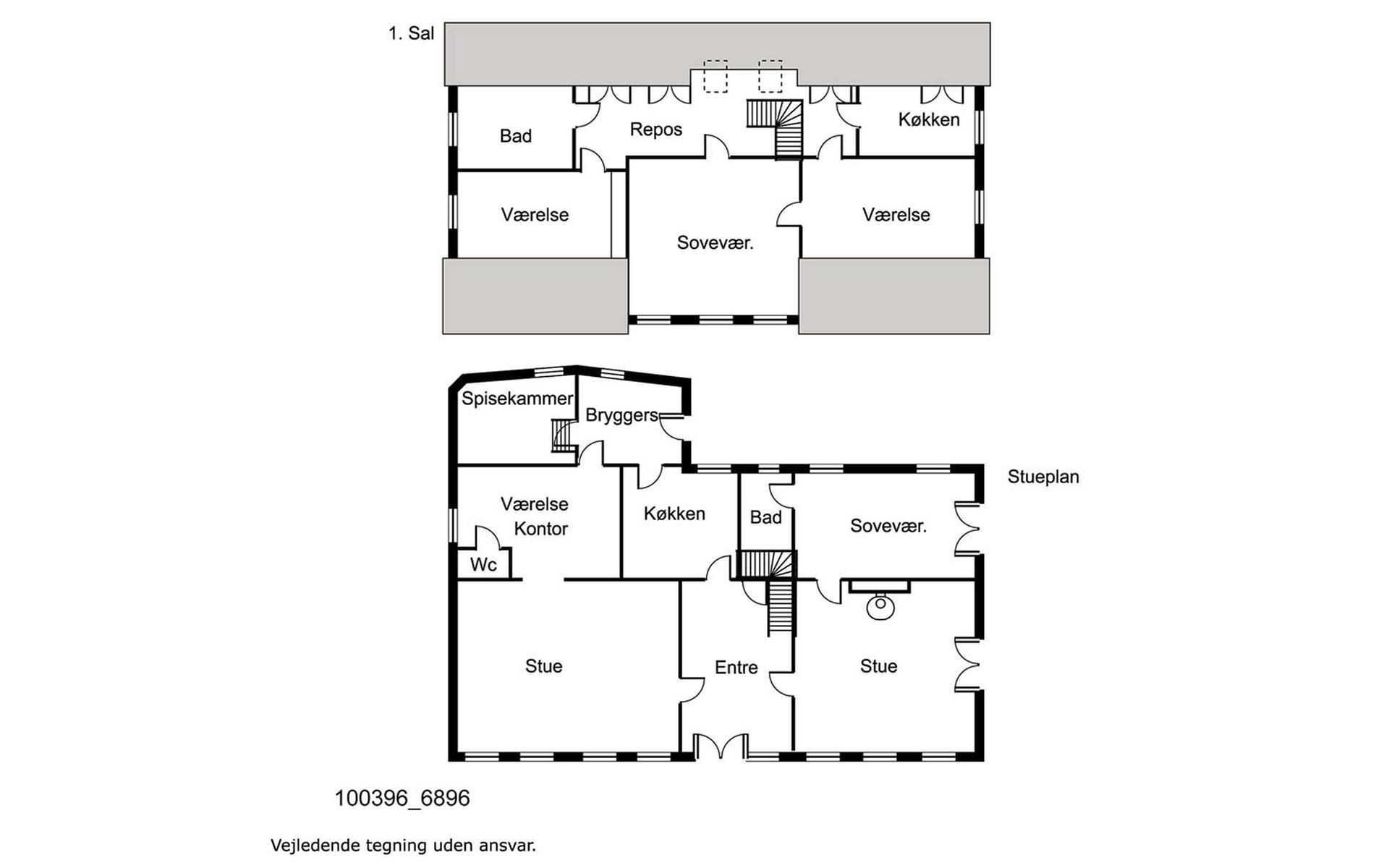 Villa på Storegade i Augustenborg - Uden mål