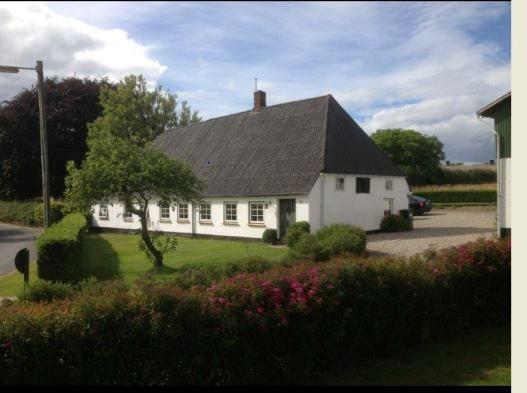 Villa på Havnbjergvej i Nordborg - Facade havesiden