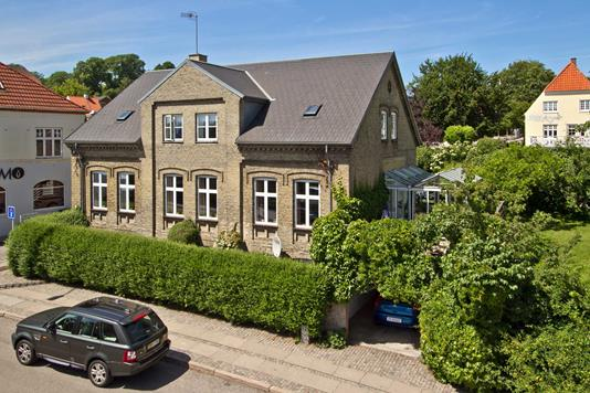 Villa på Sct Jørgensbjerg i Kalundborg - Ejendommen