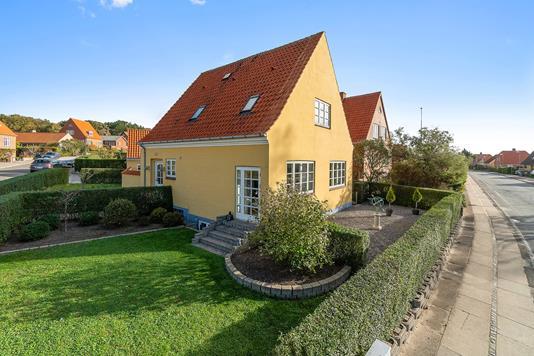 Villa på Lundemarken i Kalundborg - Set fra vejen