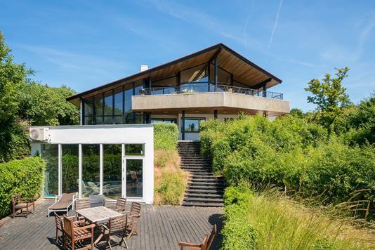 Villa på Klintedalsvej i Kalundborg - Set fra haven