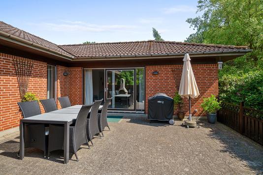Villa på Thyges Banke i Kalundborg - Gårdsplads