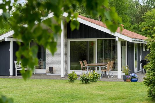 Fritidsbolig på Troldhøjen i Kalundborg - Set fra haven