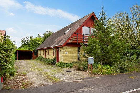 Villa på Enggårdsvej i Jerslev Sjælland - Ejendommen