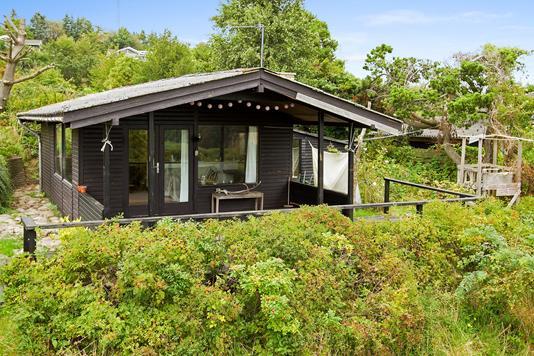 Fritidsbolig på Hejrevej i Kalundborg - Set fra haven