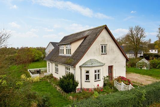 Villa på Fugledevej i Jerslev Sjælland - Ejendommen