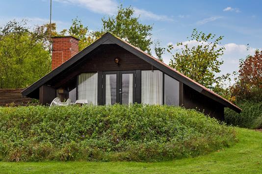 Fritidsbolig på Ternevej i Kalundborg - Set fra haven