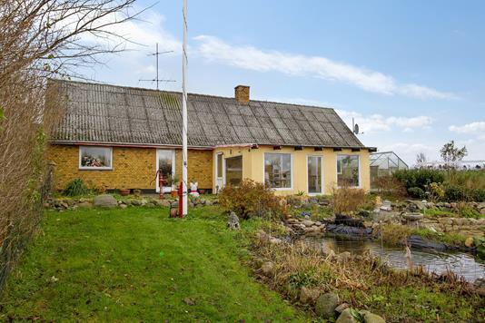 Villa på Kelleklintevej i Jerslev Sjælland - Set fra haven