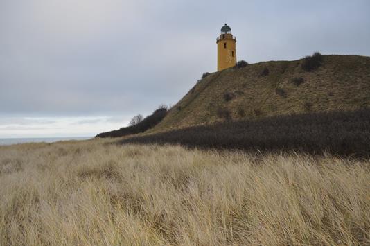 Fritidsgrund på Gniben Strand i Sejerø - Område
