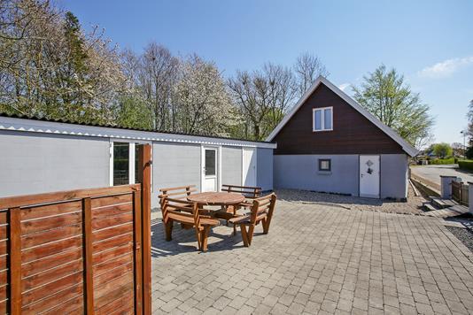 Villa på Sønderstrandsvej i Kalundborg - Terrasse