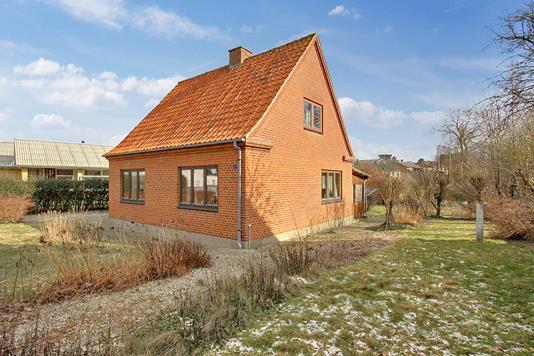 Villa på Elledevej i Kalundborg - Set fra haven