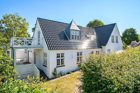 Villa på Højbjergvej i Svebølle - Set fra haven
