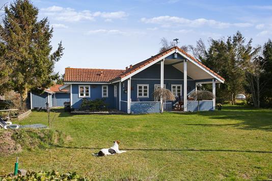 Fritidsbolig på Rågevænget i Kalundborg - Set fra haven