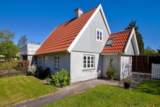 Villa på Gl Raklev i Kalundborg - Set fra haven