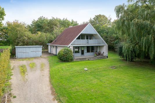 Villa på Klovbygade i Jerslev Sjælland - Set fra vejen