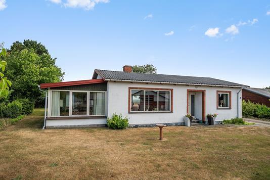 Villa på Gl Nyrupvej i Kalundborg - Set fra haven
