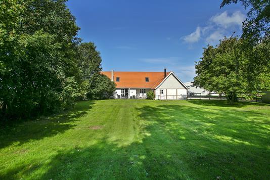 Villa på Leren i Kalundborg - Set fra haven