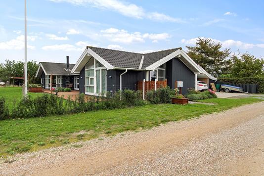 Villa på Englodden i Gørlev - Set fra vejen