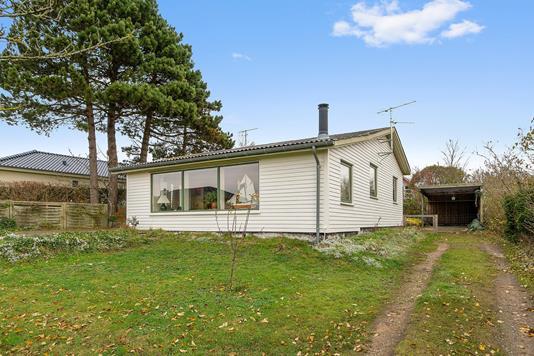 Villa på Søskrænten i Kalundborg - Set fra haven