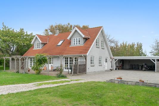 Villa på Gl Hovvej i Kalundborg - Set fra haven